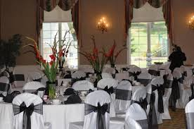 black and white chair covers pittsburgh chair covers home