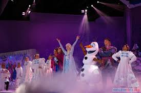 Frozen Christmas Light Show by Dedicated To Dlp U2013 Celebrating Disneyland Paris Disneyland Paris