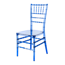 Chiavari Chairs For Sale In South Africa Mirage Cobalt Blue Chiavari Polycarbonate Chair Eventstable Com