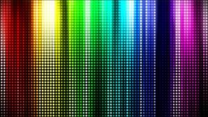 Color Spectrum Rainbow Color Spectrum Curtain Stock Footage Video 1838443
