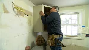 how to install kitchen cabinets youtube