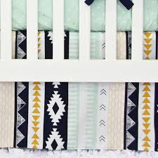 aztec gold and mint fabric by the yard caden lane