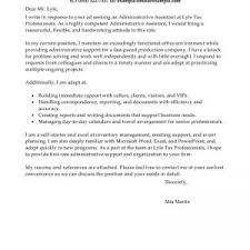 cover letter for administrative assistant doruk laundry cover