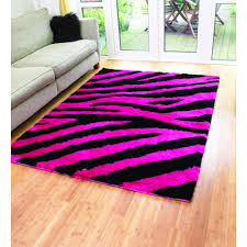 Pink Stripe Rug Black And Pink Rugs Roselawnlutheran