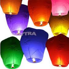 lantern kites paper lanterns fly candle l for birthday wish