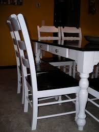 Ana White Refinished Dining Room Set DIY Projects - Refinish dining room table