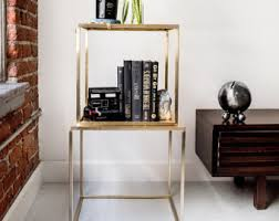 brass coffee table nightstand side tables or end table brass