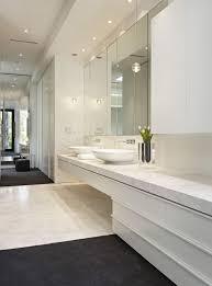 bathroom elegance bright white oval bathroom wall mirror with