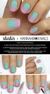 nail art watercolor nail art tutorial using acrylic paint youtube
