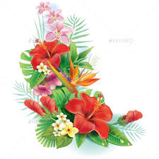 tropical flower arrangements arrangement from tropical flowers by wikki33 graphicriver