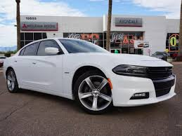 used white dodge charger used 2016 dodge charger for sale avondale az