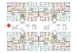 modern residential floor plans in concept desi 13290