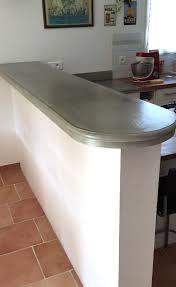 plan de travail cuisine beton beton pour plan de travail cuisine le rsultat me plait dj beaucoup