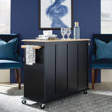 dolly madison black island cart homestyles