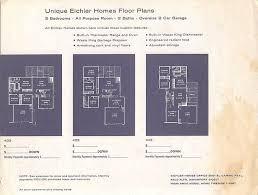 Eichler Floor Plan Penccil Bring The Outside In The Houses Of Joseph Eichler