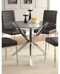 contemporary dining room sets coaster contemporary dining table vance co 120760