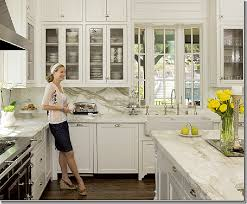 white kitchen cabinets yes or no calacatta ora marble beautiful window sink gorgeous