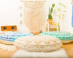 Ottoman Pillow Cushion by Poufs Floor Cushions Pouf Ottoman Meditation Cushion Pouffe