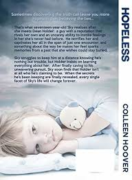 hopeless hopeless 1 by colleen hoover