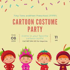 child birthday party invitations cards wishes greeting card kids party invitation templates canva