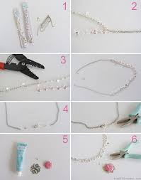 create your own necklace create a necklace accordion necklace