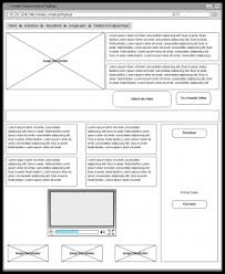wireframe templates wire frame examples