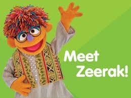 sesame street halloween background meet zeerak sesame street u0027s new afghan muppet and power pal