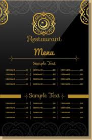 menu templates top 25 restaurant menu templates