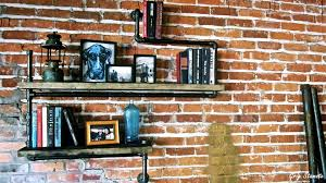 Steel Pipe Shelving by How To Use Pipe Shelving Around The House Youtube
