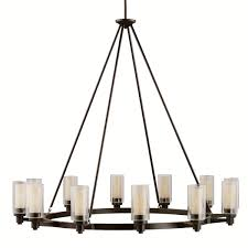 transitional chandeliers for dining room hubbardton forge 104205 double cirque transitional chandelier hf