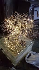 wire tree with lights a wire tree on cut out keep