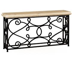 Console Tables Cheap by Furniture Impressive Wrought Iron Console Table Design With