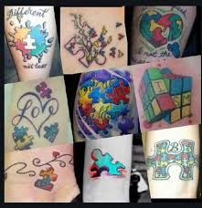 autism tattoos autism asperger u0027s awareness tattoos pinterest