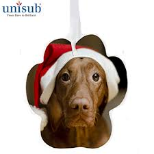 unisub aluminum ornaments for sublimation imprinting