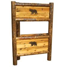 Barnwood Bunk Beds Barnwood Bunkbed With Carving