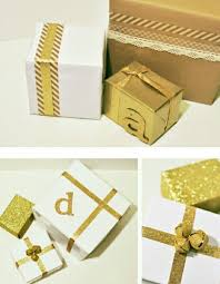 gold gift wrap the importance of gift wrapping unique gifter