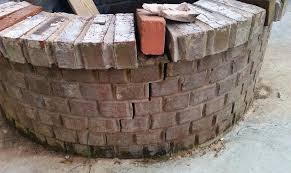 How To Build A Square Brick Fire Pit - square brick fire pit home fireplaces firepits how to diy