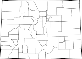 Colorado Maps File Map Of Colorado Counties Blank Svg Wikimedia Commons