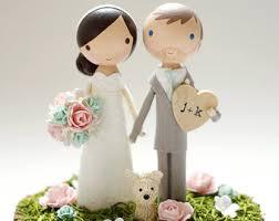 custom wedding toppers custom wedding cake toppers happy handmade by lollipopworkshop