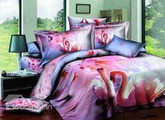 3d Bedroom Sets by Snuggling Lion Couple Print 4 Piece Cotton Duvet Cover Sets 3d