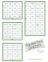 square foot garden plans for spring onecreativemommy com