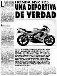 honda nsr 125r crm125 89 95 revue moto technique n85