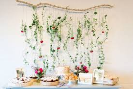 backdrop for baby shower table floral garland backdrop baby shower pinterest floral