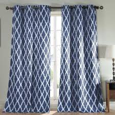 Navy Blue And White Curtains Curtain Navy White Curtains Navy Blue And White Horizontal