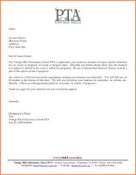 donation letter format images letter samples format