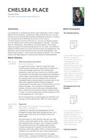resume for administrative assistant administrative assistant resume sles visualcv resume sles