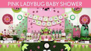 ladybug shower invitations pink ladybug baby shower party ideas pink ladybug s52 youtube