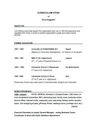 Best Resume Format For B Com Freshers by Tags Good Resume For Restaurant Job Objectives Food Server