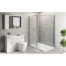 sienna arte combo unit with frameless walk in 1400x900
