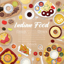 id d o cuisine indian cuisine menu template with chicken rice and curry traditional